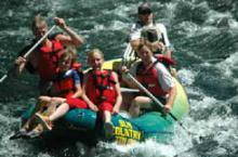 Rafting in Island Park