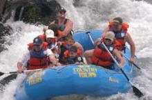 Rafting in Island Park and Yellowstone