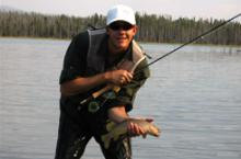 Island Park fly fishing on the Henrys Fork